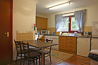 Kitchen in Willow self catering cottage